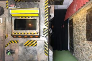 Lockdown Escape Rooms hallway interior