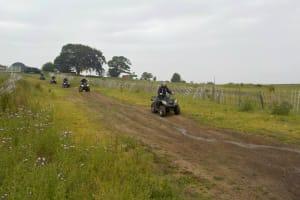 Battlezone Paintball Edinburgh - quad bike track