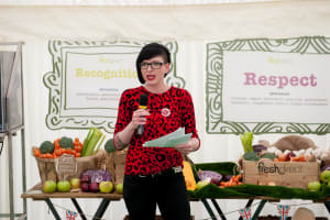 Bake off cookery event for Fresh Direct