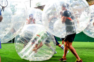 Indoor Zorb Football