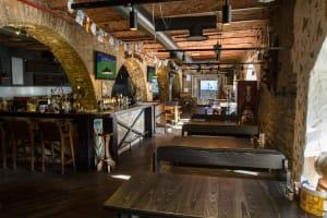 Beer Garden Taliff - Interior of bar