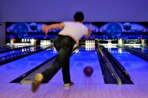 a man bowling Hollywood Bowl - Cardiff
