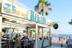 Bikini Beach Bar - Outside