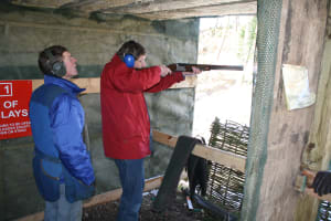 Weston Lodge - Clay shooting stand