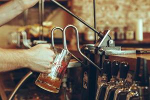 Small Bar Bristol taps