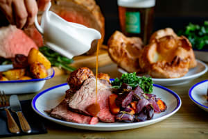 Sunday Roast & Beer Board