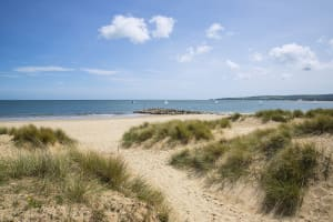 Poole Sandbanks Beach