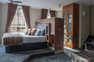 Lace Market Hotel double room