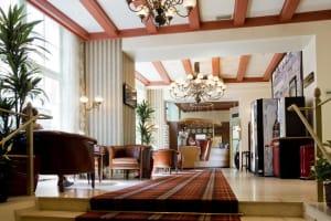 Avenue Hotel Amsterdam lobby