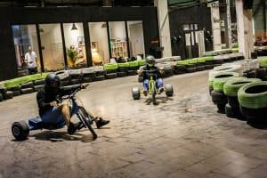 Drift Trikes - 10 mins