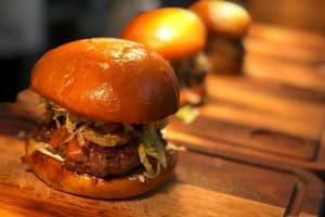 3 delicious burgers