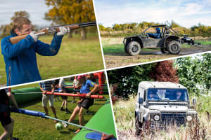 Rage Buggies, Blind Driving, Clays & Human Table Football stag