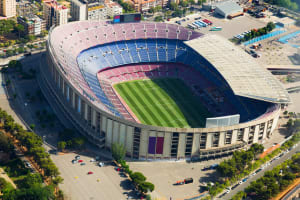 Nou Camp Stadium