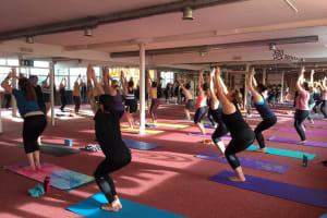 Ashtanga Yoga group