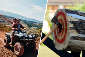 Quad Biking & Axe Throwing