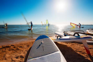 Windsurfing Beach