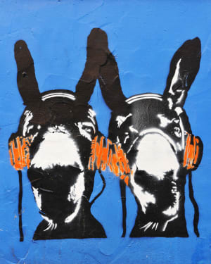 Seaside Art Banksy