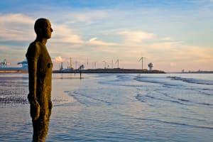 Seaside Art Antony Gormley