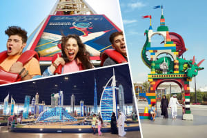 Dubai Parks & Resorts 2 Days Pass