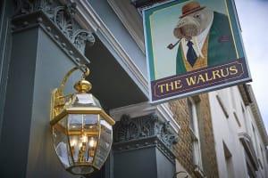 The Walrus entrance