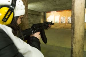 Riga Target Shooting Guns kalashnikov rifle Hen