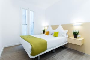 Cosmo Apartments Marina double bed