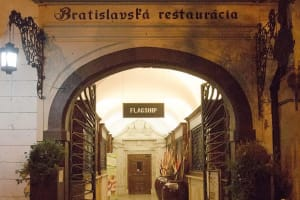 Bratislava Flagship Restaurant entrance