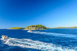Sailing To Pakleni Island