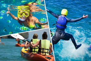 Kayaking, Snorkelling & Cliff Jumping