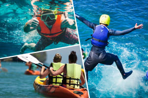 Kayaking, Snorkelling & Cliff Jumpingstag