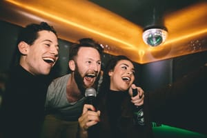 Karaoke lucky voice