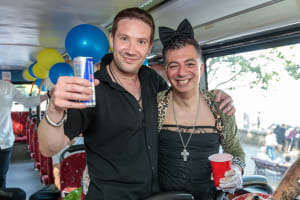 Party Bus Groups London - CHILLISAUCE