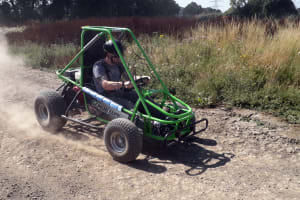 Single Seat Off Road Dirt Kart Trials