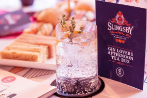 Gin Lovers Afternoon Tea Bus