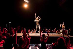 Glitter Yoga Groove Om Yoga