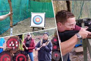 m ulti activity adventure now rifle shooting archery axe throwing