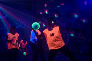 UV Disco Dodgeball