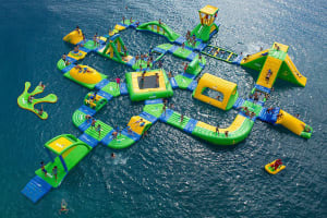 Water Wipeout Assault Course