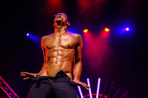 The Dreamboys Show dancer