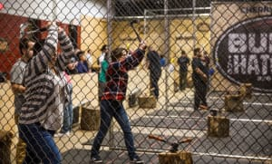 Axe Throwing Venue Image