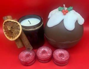 Virtual Candles Of Christmas