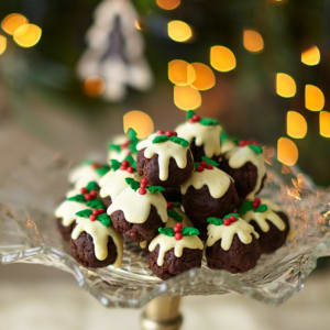 Virtual Christmas Chocolate Truffle