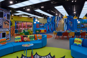 Big Brother House - interior