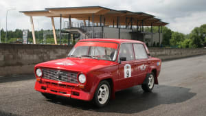 Russian Lada Car Racing