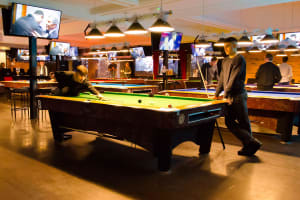Pool Table & Big Screen Sports