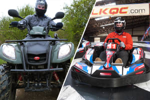 Indoor Karting & Quad Bike Safari