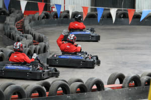 Langar Karting Centre - indoor track