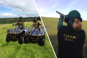 Clay Shooting & Quad Trek - 6 Mile