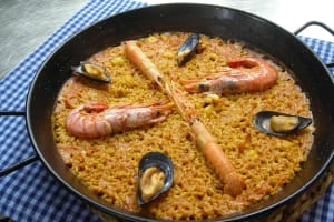 Guided Market Tour & Paella Cooking Class