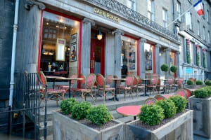 cafe rouge Edinburgh - outside front